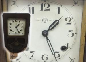 精工舎の柱時計